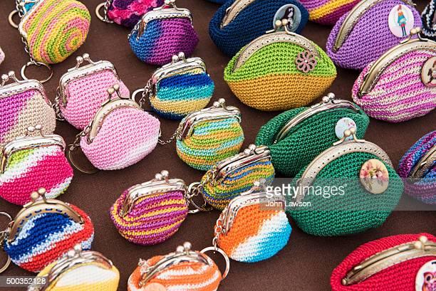 Crocheted purses on sale