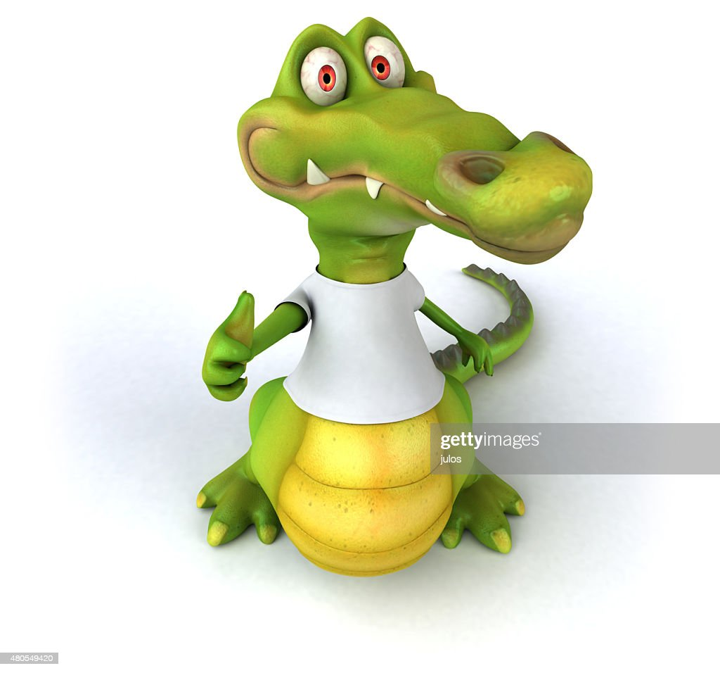 Crocodilo : Foto de stock