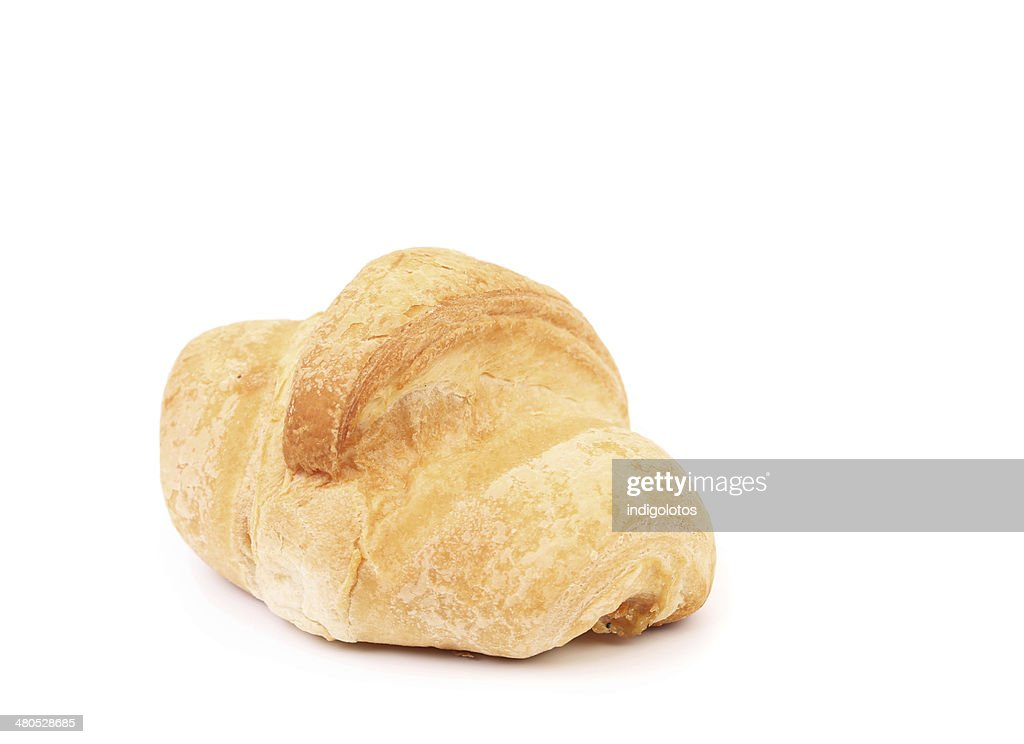Croissant closeup. : Stock Photo