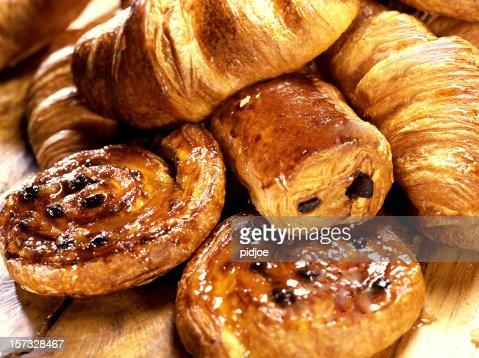 croissants and Danish