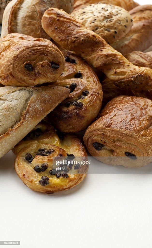 Croissants, baguette, Danish, buns XXXL
