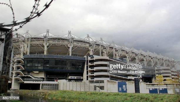 Croke Park Stadium in Dublin the headquarters of Gaelic Athletic Association who could finally scrap its traditional ban on members of the Ulster...