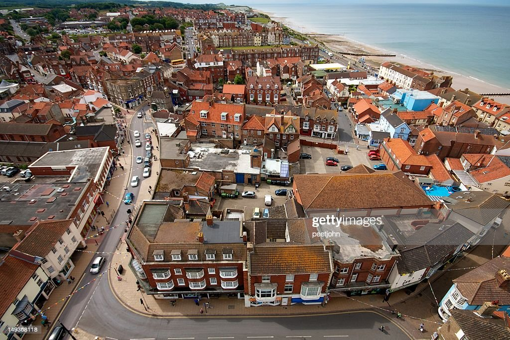 Cromer, from church tower