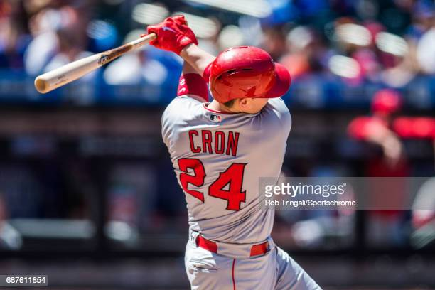 J Cron bats during the game against the New York Mets at Citi Field on May 21 2017 in the Queens borough of New York City 'n
