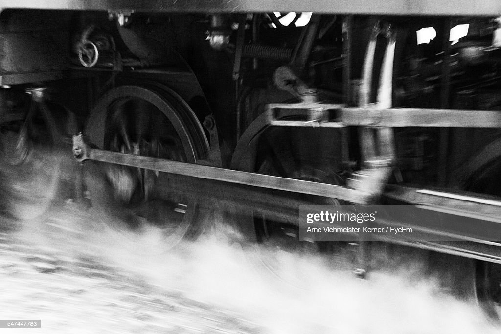Cropped Image Of Steam Train