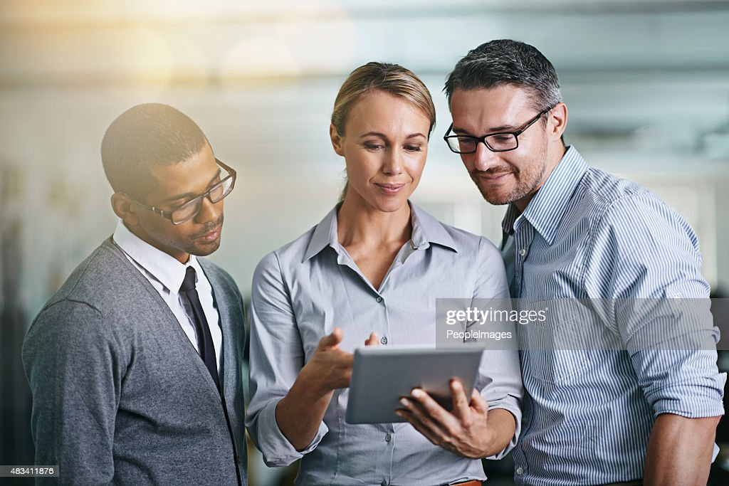 They are making all the right moves : Stock Photo