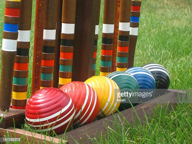 Croquet Balls in a Row