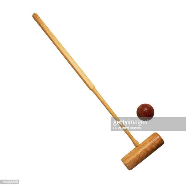 Croquet Mallet and Ball