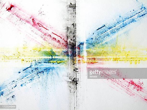 CMYK cross art
