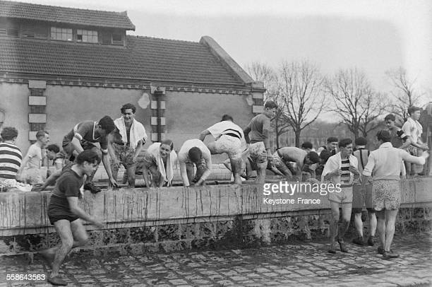 Cross populaire de 'L'Auto' au Polygone de Vincennes France en janvier 1930