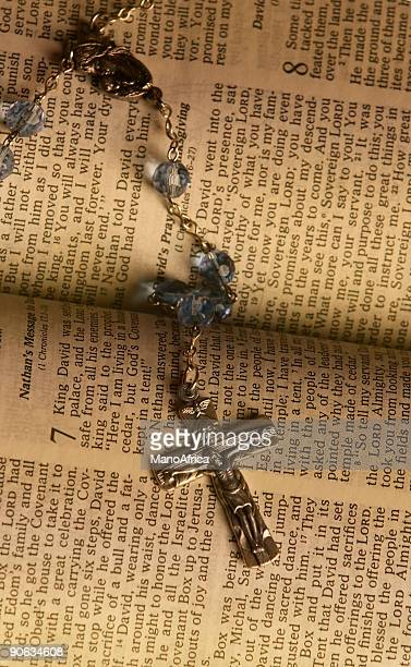 Cross Rosary Bible