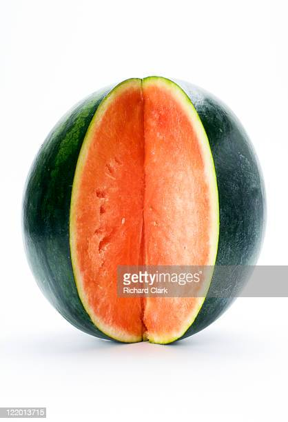 Cross section of watermelon