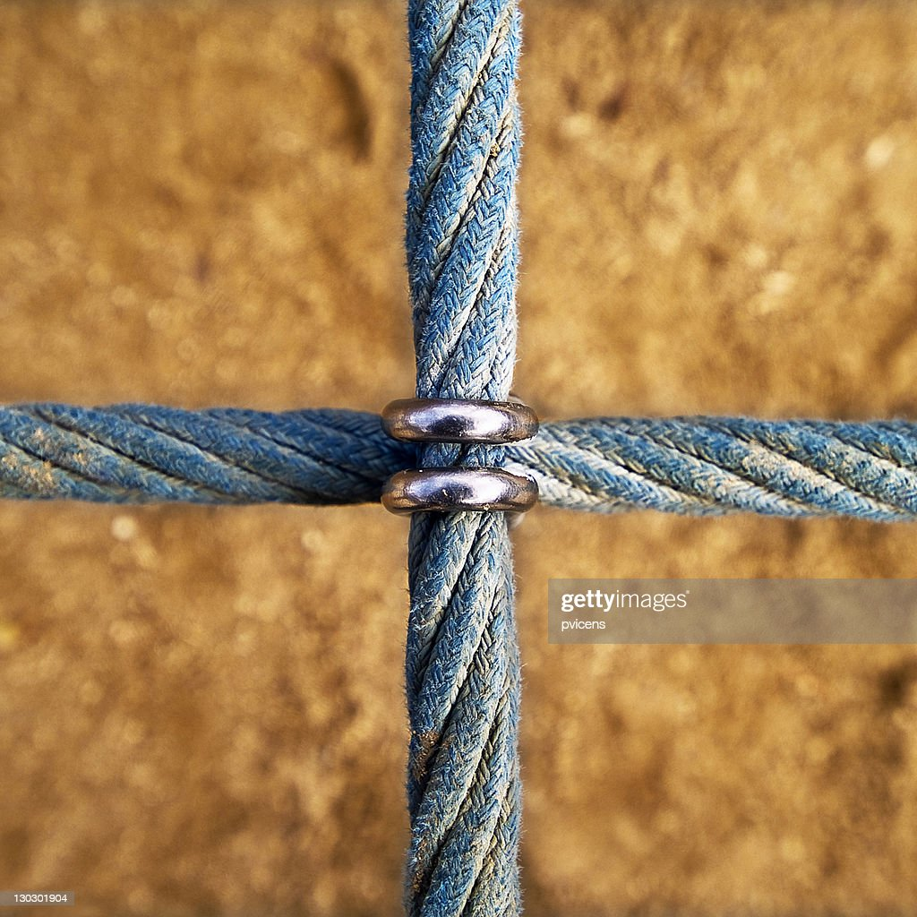 Cross string : Stock Photo