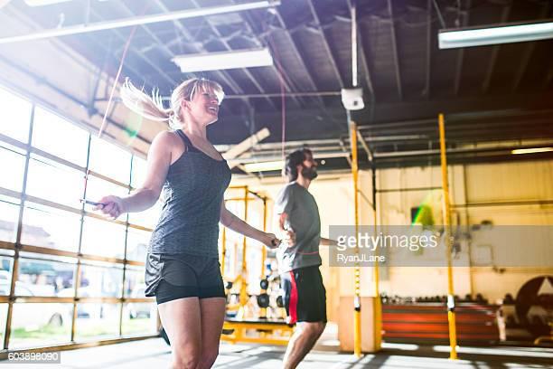 Cross Training Couple Jump Ropes