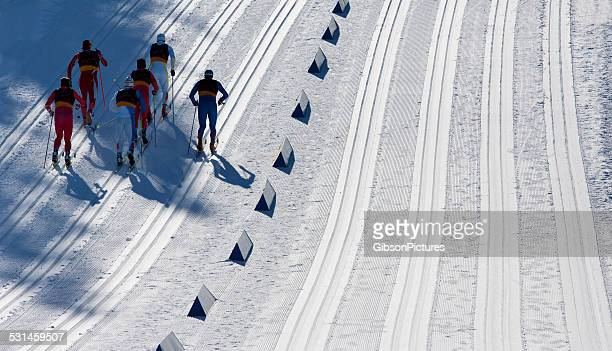 Cross-Country Ski-Rennen