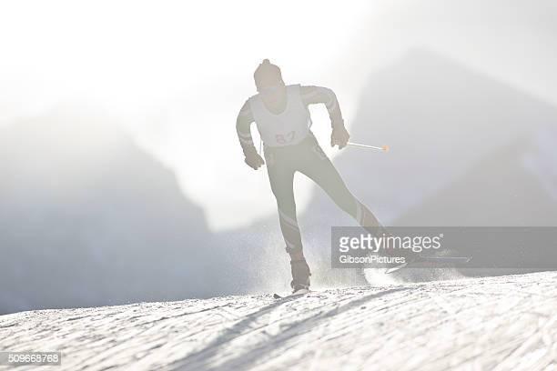 Coureur de Ski de fond