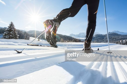 Cross-Country Skiing in European Alps