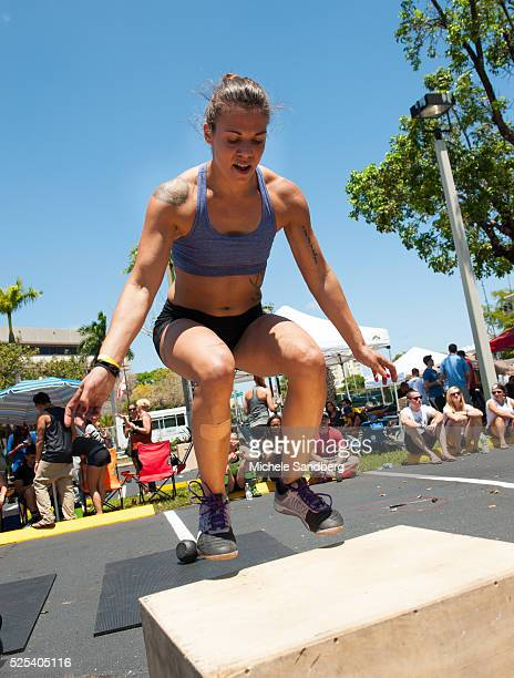 CrossFit Two Day Competition Event at Revolution Live in Fort Lauderdale Men and women amateur and professional compete in $10000 cash and prizes
