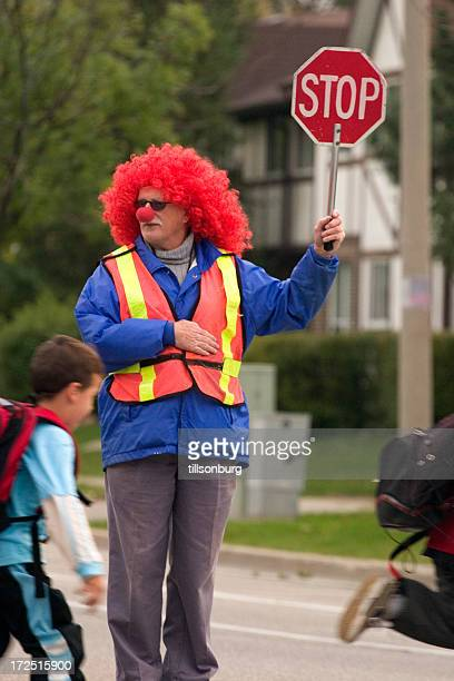 Crossing Guard Clown