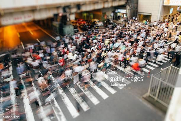 Crossing in Japan