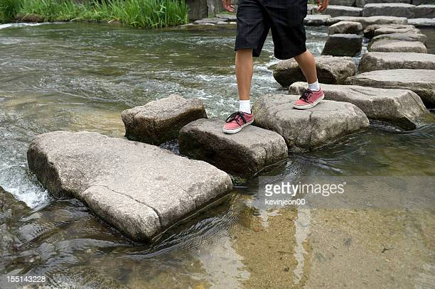 Crossing Stepping Stones