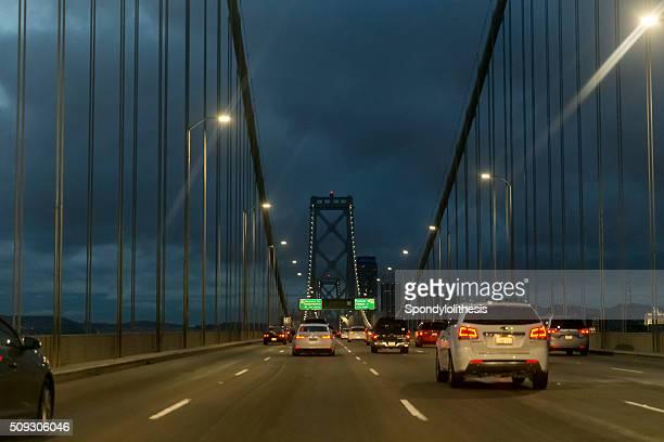 Crossing the Bay Bridge, San Francisco