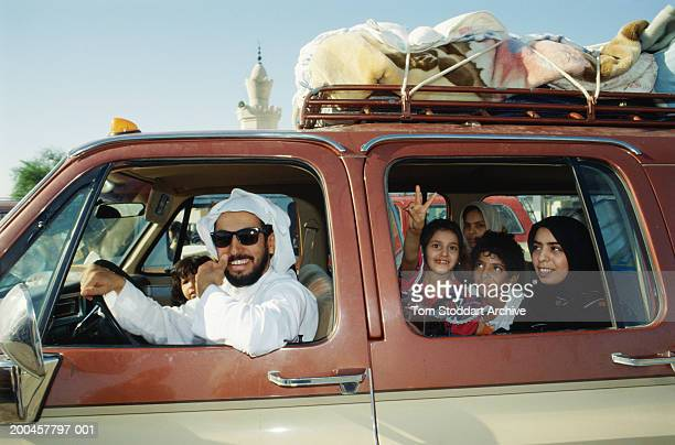 Crossing the border into Saudi Arabia and safety after Saddam Hussein's Iraqi army invaded Kuwait causing the Persian Gulf crisis