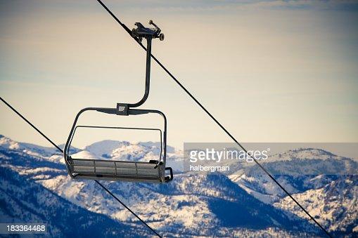 Cross-Processed Ski Lift