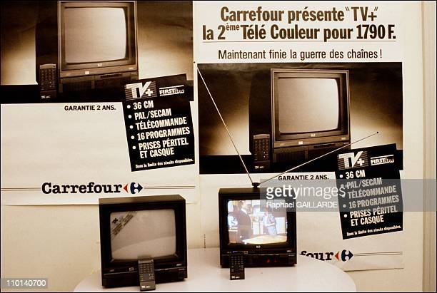 'Crossroads' promotion on 2nd tv in Paris on November 23 1987