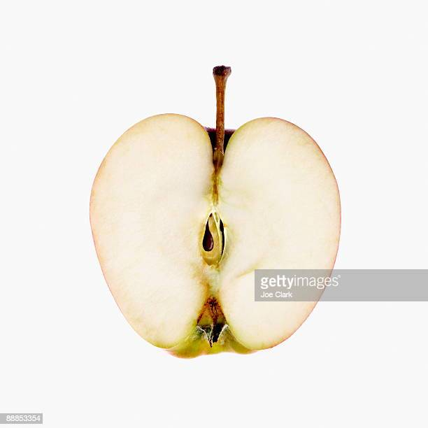 Cross-section of apple