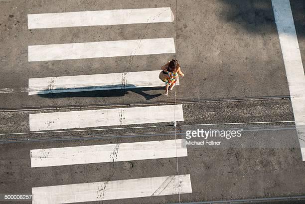 Crosswalk in Lisbo