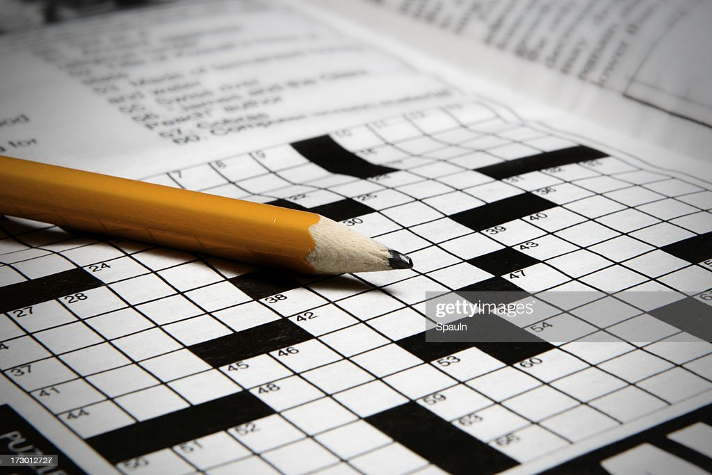 Crossword Puzzle Stockand Pictures  Getty Images