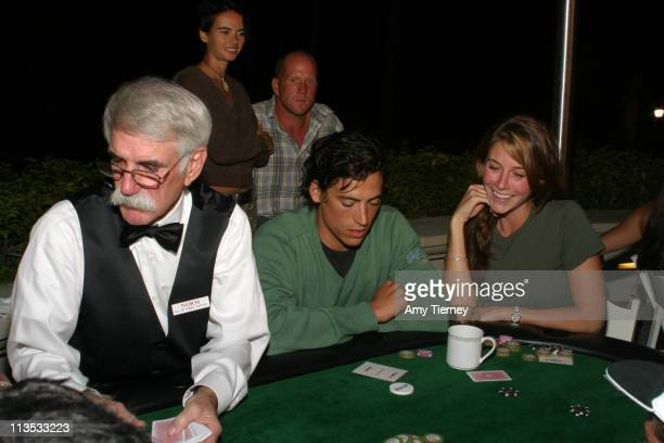 Croupier Norm with Boost Mobile celebrity team rider and winner Andrew Keegan and Carol Lindsay Woodall