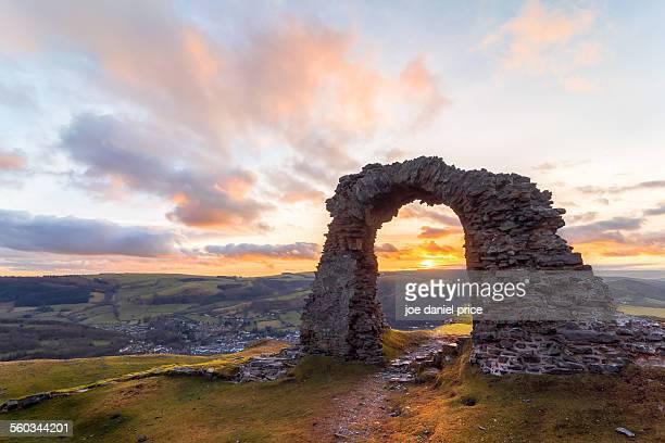 Crow Castle Ruins, Llangollen, North Wales