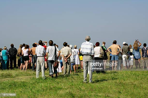 Crowd at Air Show