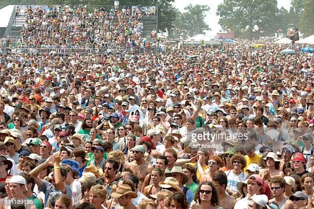 Crowd at Buddy Guy during Bonnaroo 2006 Day 2 Buddy Guy at Which Stage in Manchester Tennessee United States