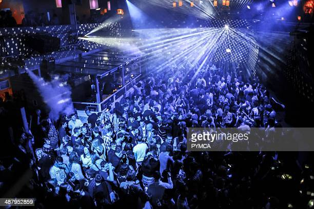 Crowd at Matter club O2 arena Greenwich London