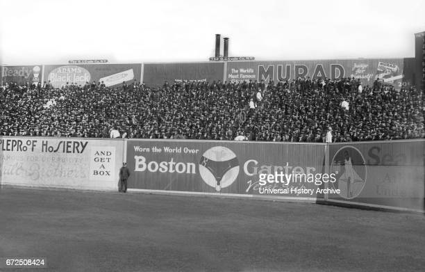 Crowd at Polo Grounds during World Series Game between New York Yankees and New York Giants New York City New York USA Bain News Service October 1921