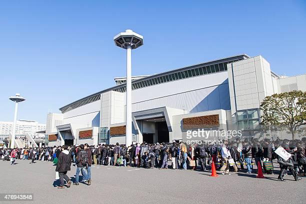 Menschenmenge in der 85. Comic-Markt