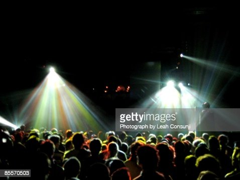 Crowd at the Hordern Pavillion : Stock Photo
