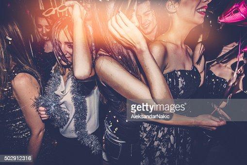 Crowd on a dance floor