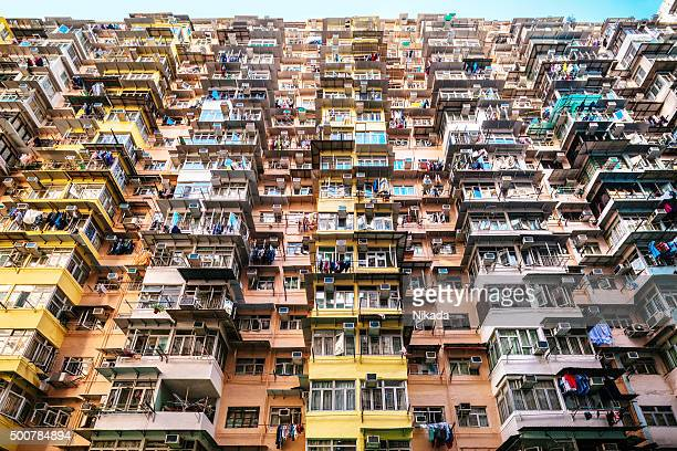 満員の建物で、中国香港