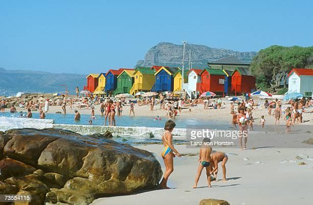 Crowded Beach Scenic