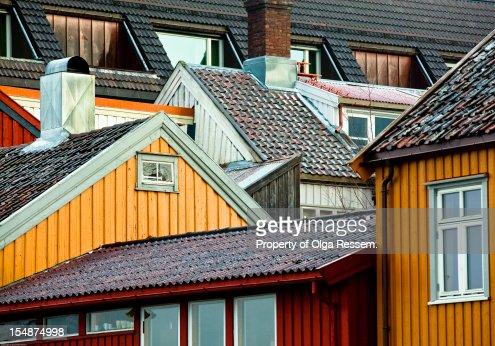 Crowded Neighbourhood : Stockfoto