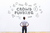 crowdfunding concept for business
