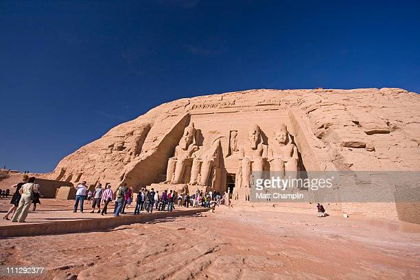 Crowds at  Abu Simbel Temple