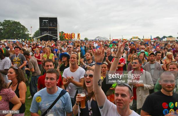 Crowds gather at Ireland's largest boutique music festival The Electric Picnic which opens today The festival features acts including the Sex Pistols...