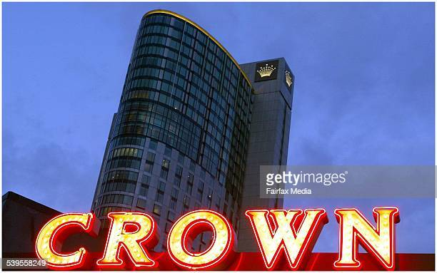 Crown Casino signage 24 June 2004 AFR picture by SHANNON MORRIS