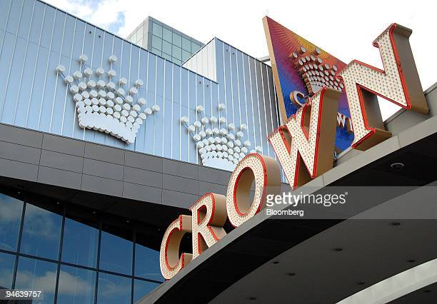 Crown Ltd's Crown Casino stands in Melbourne Australia Tuesday Aug 21 2007 Crown Ltd Australia's biggest casino owner will take a A$44 million charge...