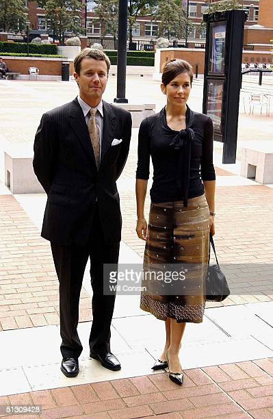 Crown Prince and the Crown Princess of Denmark attend the Hans Christian Andersen 2005 worldwide celebration of the work and life of the famous...